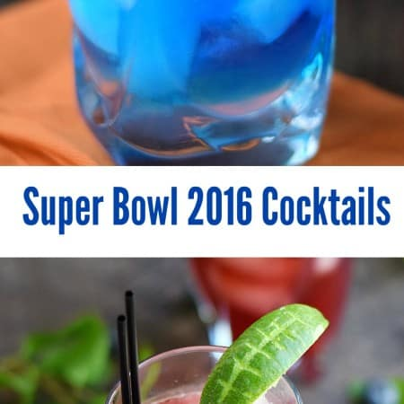 Super Bowl 2016 Cocktails