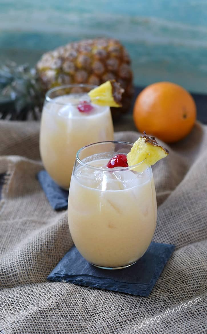 Kick back, relax, and enjoy a Tropical Painkiller...or two | cookingwithcurls.com
