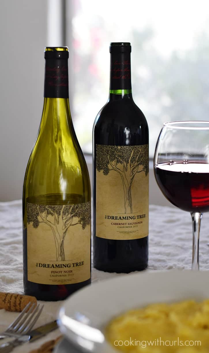Msg 4 21+ Dreaming Tree Wines | cookingwithcurls.com #EntertainandPair #ad