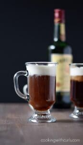 Celebrate your Irish with a Traditional Irish Coffee | cookingwithcurls.com