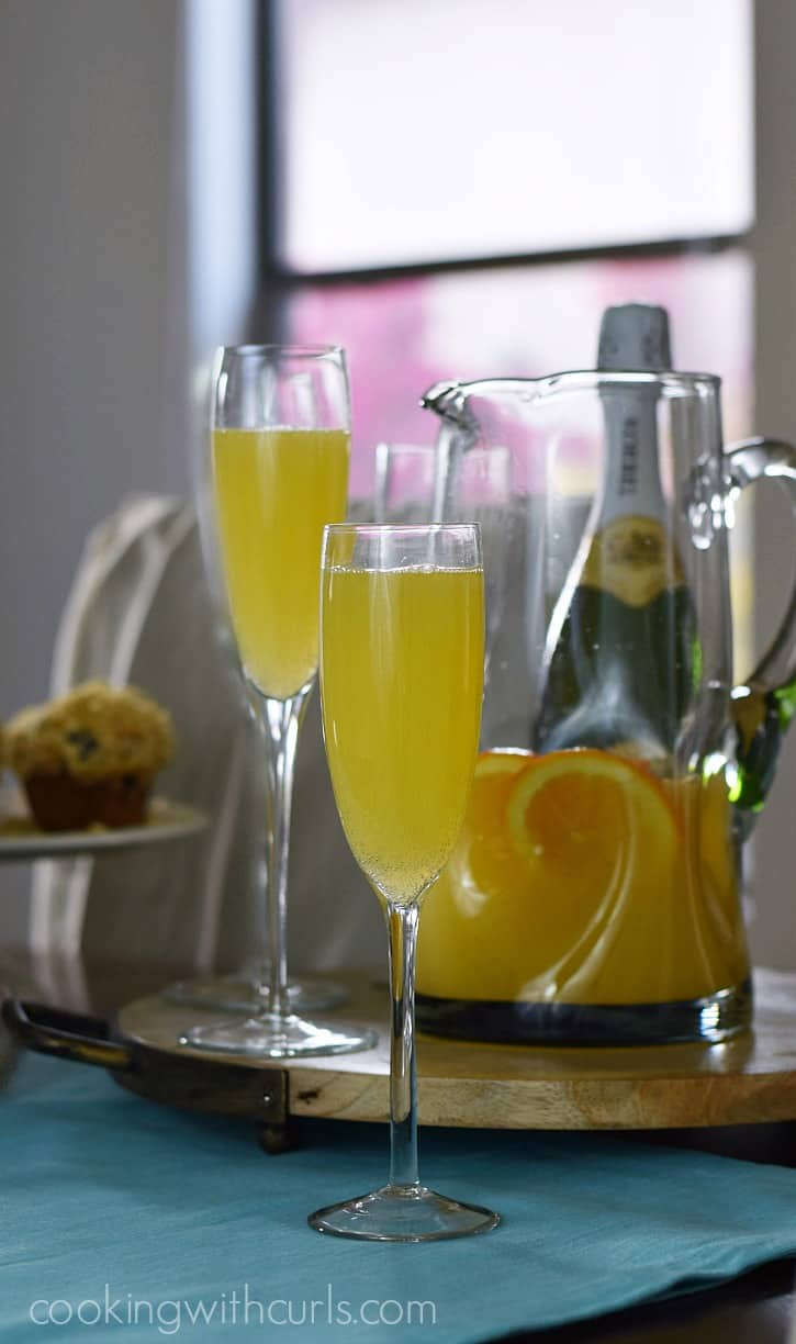 Classic Mimosa | cookingwithcurls.com