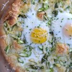 Asparagus Brunch Pizza