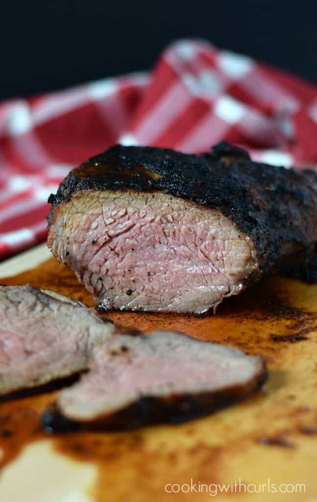 Santa Maria Style Tri-Tip - Cooking With Curls