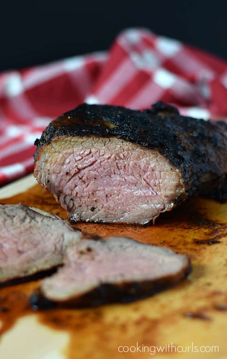 Juicy and delicious Santa Maria Style Tri-Tip perfect for summer grilling | cookingwithcurls.com