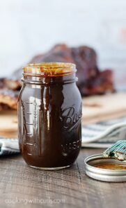 Pineapple Bourbon Barbecue Sauce | cookingwithcurls.com