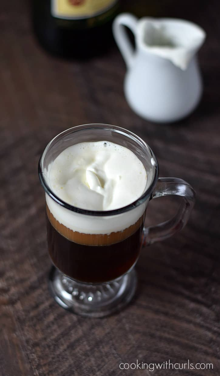 Traditional Irish Coffee | cookingwithcurls.com