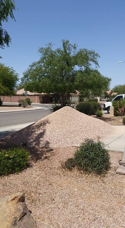 12 Tons of Arizona Blonde Rock | cookingwithcurls.com