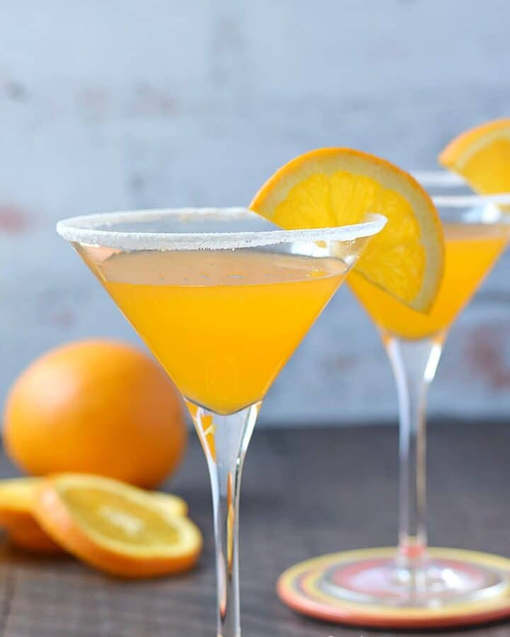 A refreshing Orange Drop Martini is perfect after work or with brunch   cookingwithcurls.com