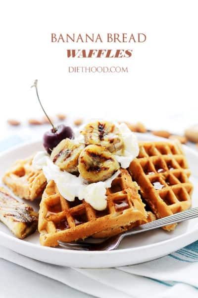 Banana-Bread-Waffles
