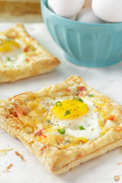 Breakfast Egg Puffed Pastry