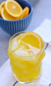 Orange Peach Mango Spritzer
