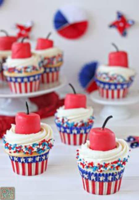 Firecracker Cupcakes450