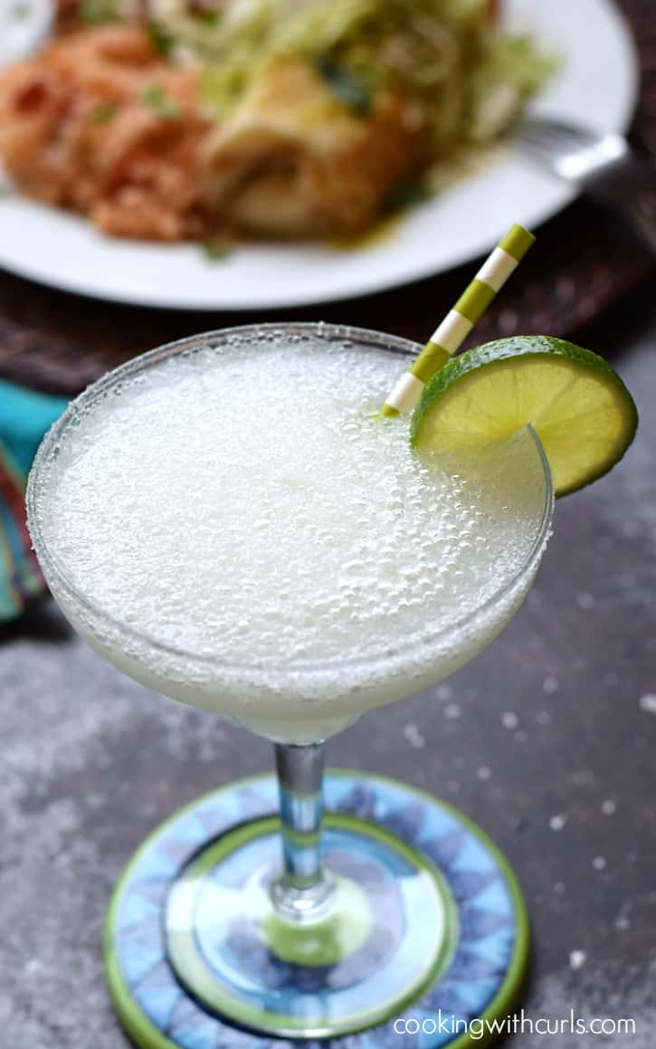 Frozen Margaritas | cookingwithcurls.com
