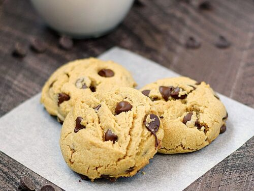 Peanut Butter Chocolate Chip Cookies Cooking With Curls