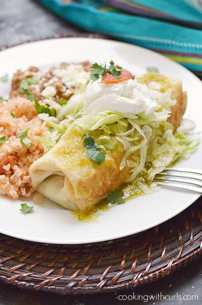 Shredded Beef Chimichangas that are better than any Mexican restaurant!! cookingwithcurls.com