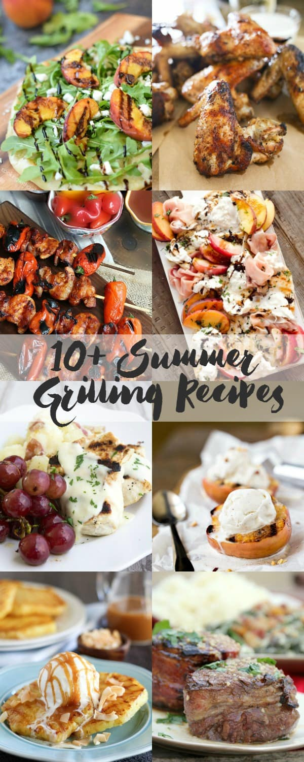 10+ Summer Grilling Recipes | cookingwithcurls.com