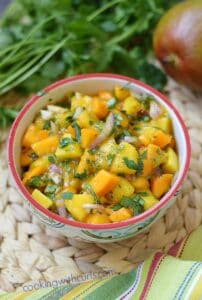 Papaya Mango Salsa