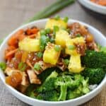 Grilled Chicken Teriyaki Bowls