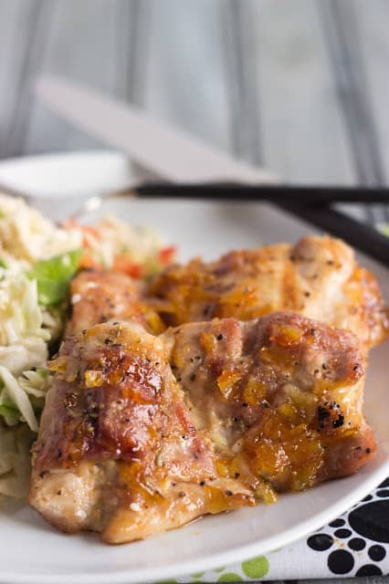 Asian Chicken with Sesame Salad