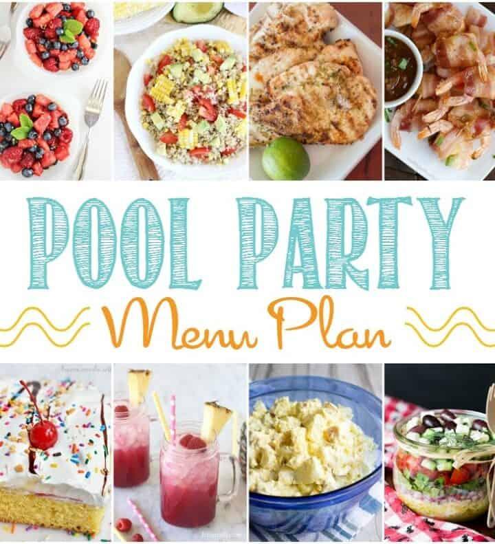 Pool Party Menu Plan | cookingwithcurls.com