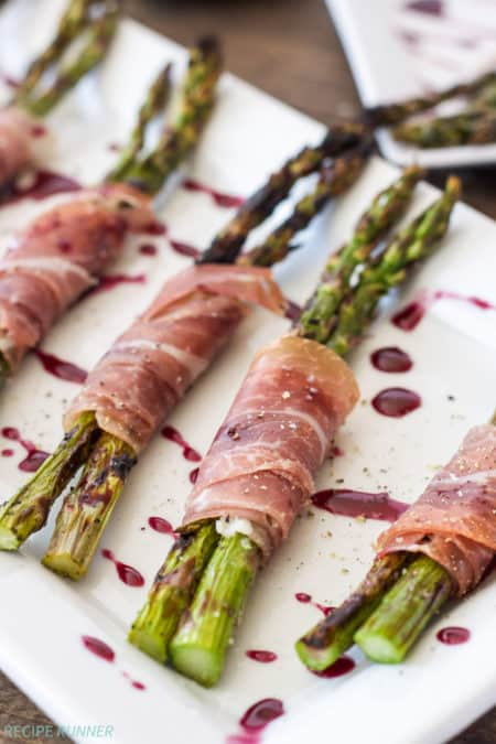 ProsciuttoWrappedGrilledAsparaguswithRedWineDrizzle7