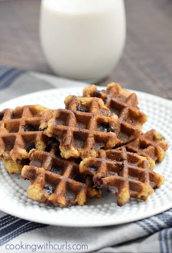 The Better Baker: Waffle Iron Cookies. Find this Pin and more on Christmas Cookies! by Just A Pinch Recipes. Waffle Iron Cookies - I wonder if I could make them on my circus-shapes waffle iron.