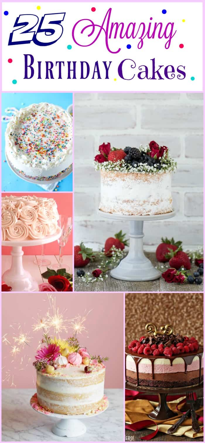 25 Amazing Birthday Cakes