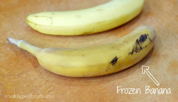 Frozen Banana | cookingwithcurls.com