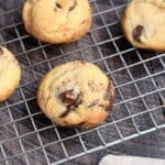 Grilled Chocolate Chip Cookies, no oven required!! cookingwithcurls.com
