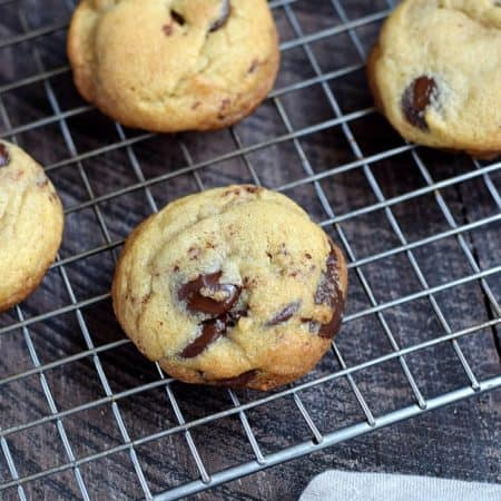 Grilled Chocolate Chip Cookies, no oven required | cookingwithcurls.com