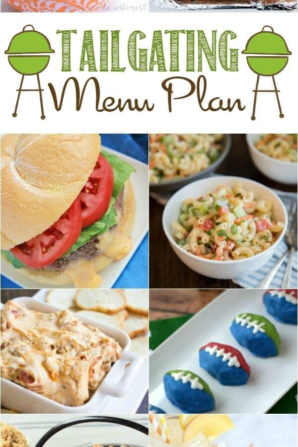 Tailgating Party Menu Plan | cookingwithcurls.com