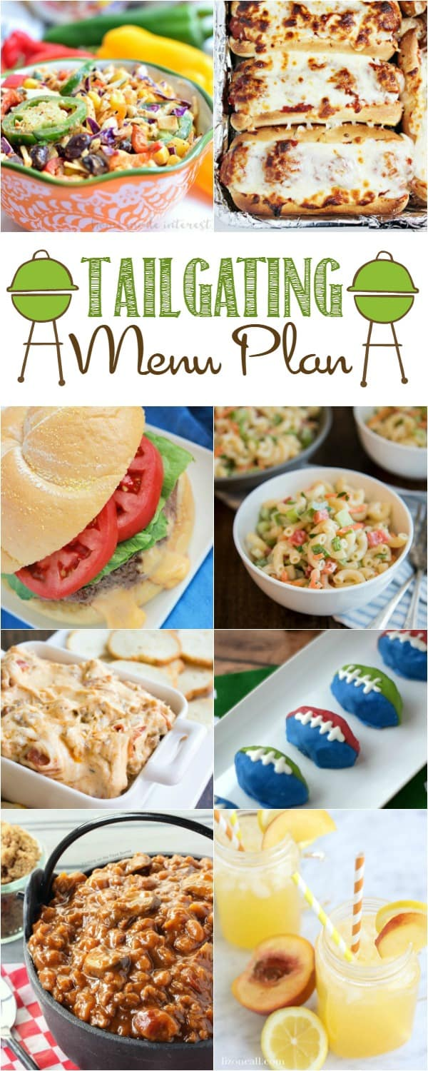 Tailgating Party Menu Plan | cookingwithcurls.com