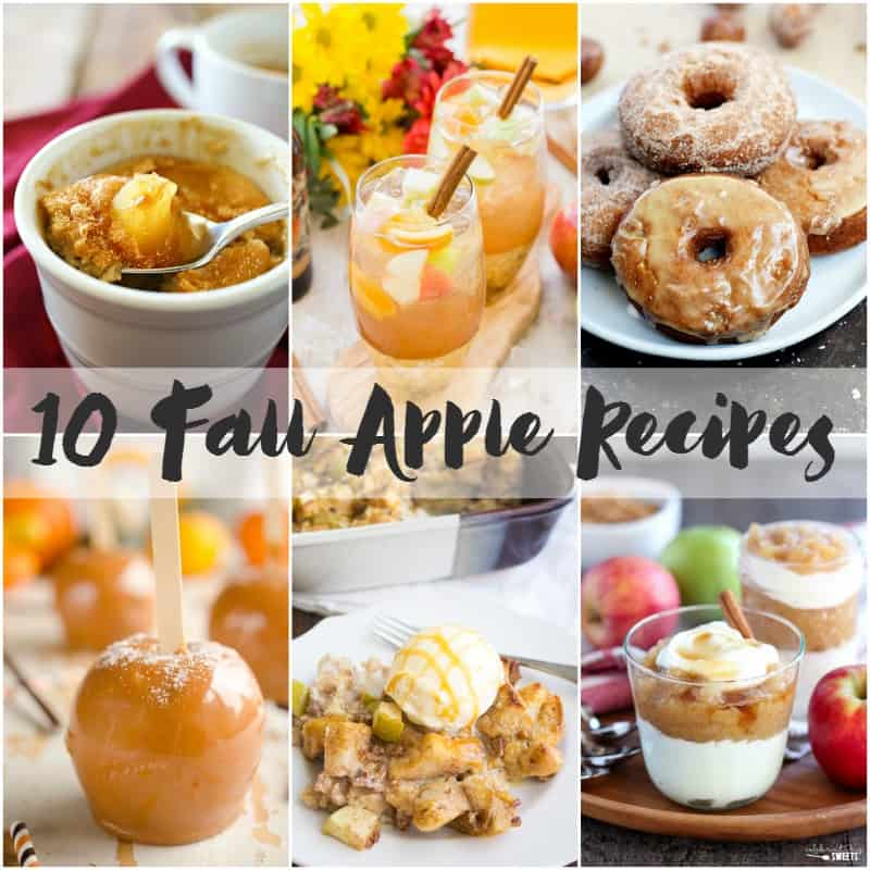 10 Fall Apple Recipes | cookingwithcurls.com