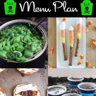 Halloween Party Menu Plan | cookingwithcurls.com