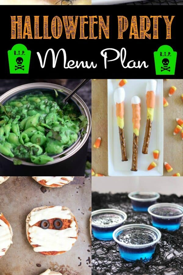 Halloween Party Menu Plan | cookingwithcurls.com