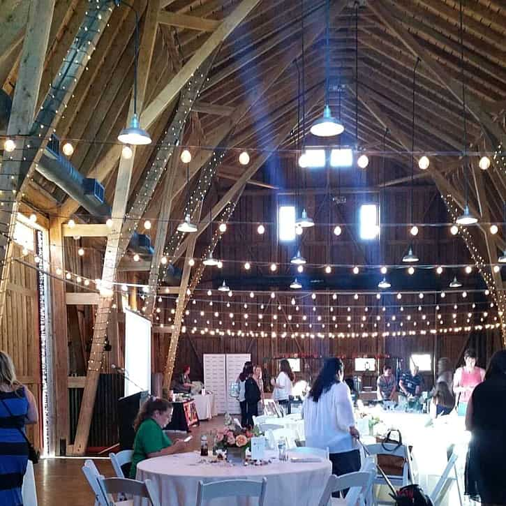 Windmill Winery Barn | cookingwithcurls.com #blendedconf16