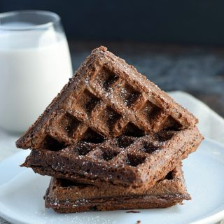 You wont need the oven to make these fun fudgy waffled brownies | cookingwithcurls-com