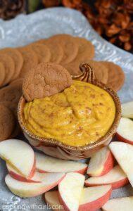 Dairy-free Pumpkin Spice Dip