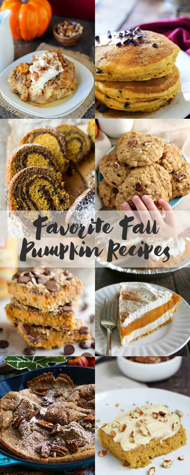 Favorite Fall Pumpkin Recipes from your favorite bloggers | cookingwithcurls.com #feastndevour