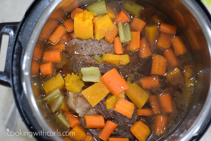 Simple Pot Roast with Carrots and Squash done cookingwithcurls.com