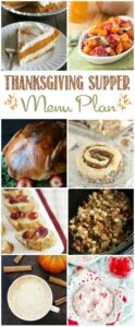 The ultimate Thanksgiving Menu Plan | cookingwithcurls.com