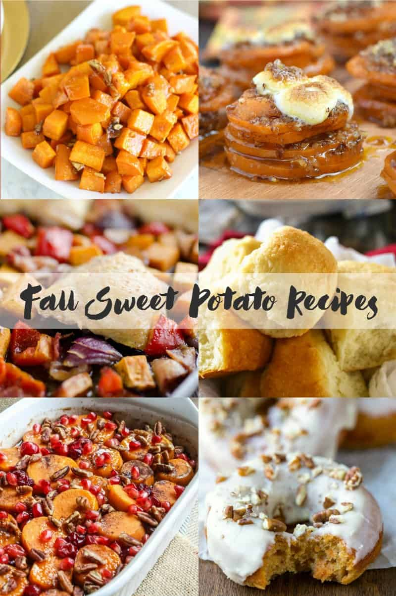 Delicious Sweet Potato recipes that are perfect for Fall | cookingwithcurls.com