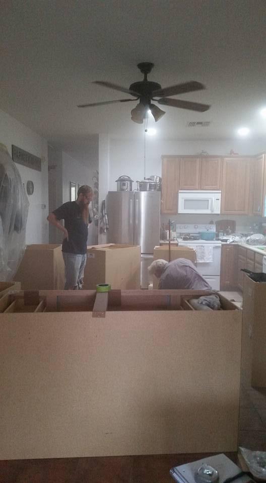 Kitchen dust storm | cookingwithcurls.com