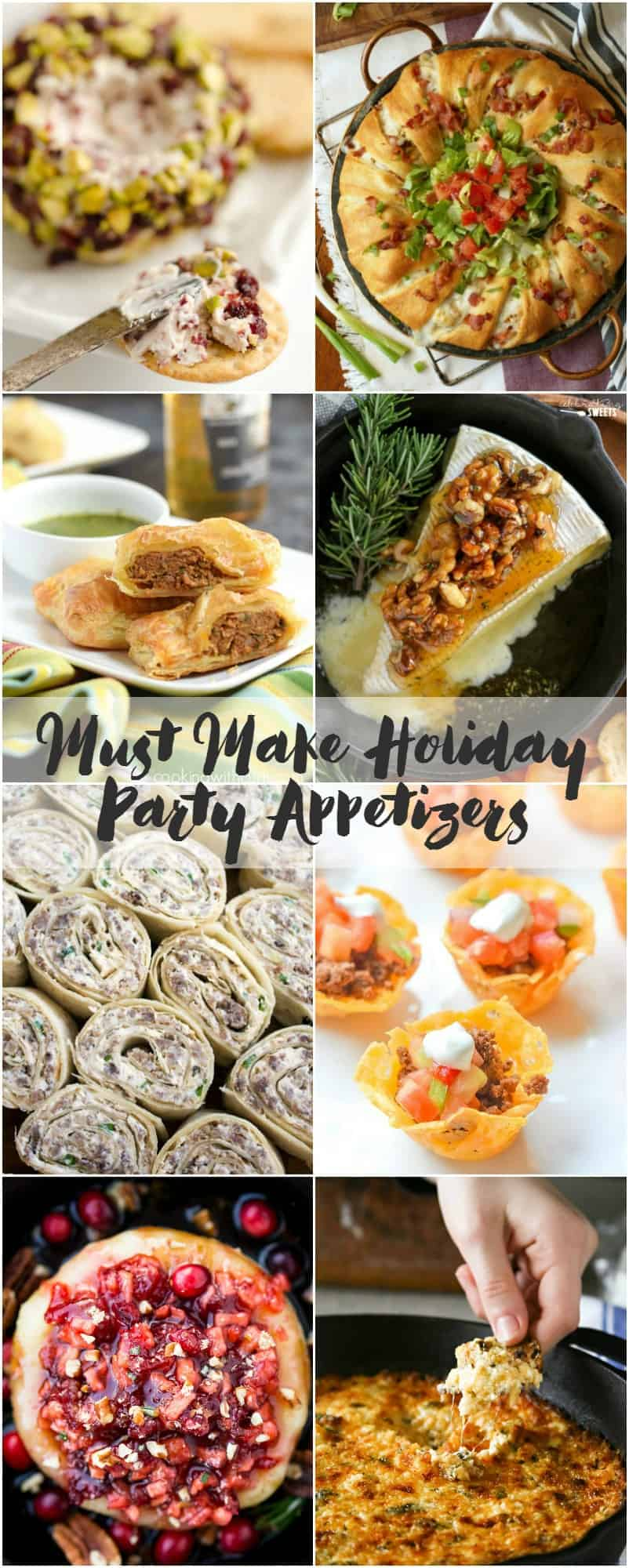 Must Make Holiday Party Appetizers | cookingwithcurls.com