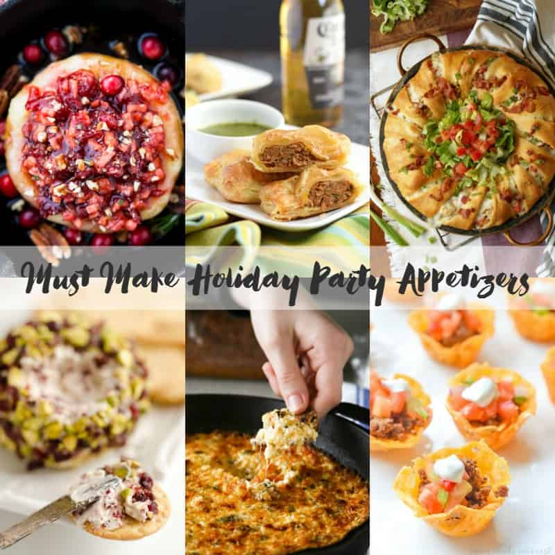 Holiday Appetizers | cookingwithcurls.com