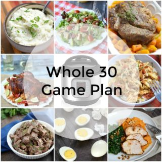 I have created a Whole 30 Game Plan to get healthy in the new year | cookingwithcurls.com