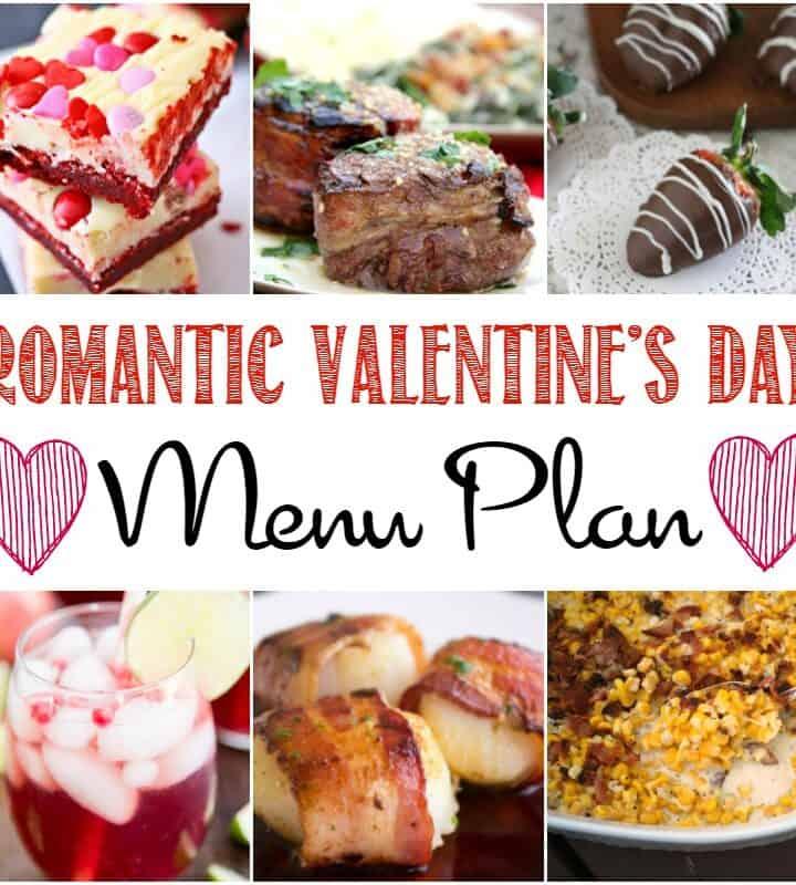 Romantic Valentine's Day Menu Plan | cookingwithcurls.com