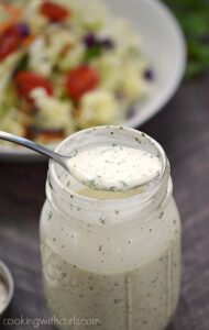 The best Whole 30 Ranch Dressing ever!! Fresh and delicious, and only takes minutes to make cookingwithcurls.com