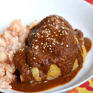 This Whole 30 Mole Sauce is the perfect way to jazz up your roast chicken or beef | cookingwithcurls.com