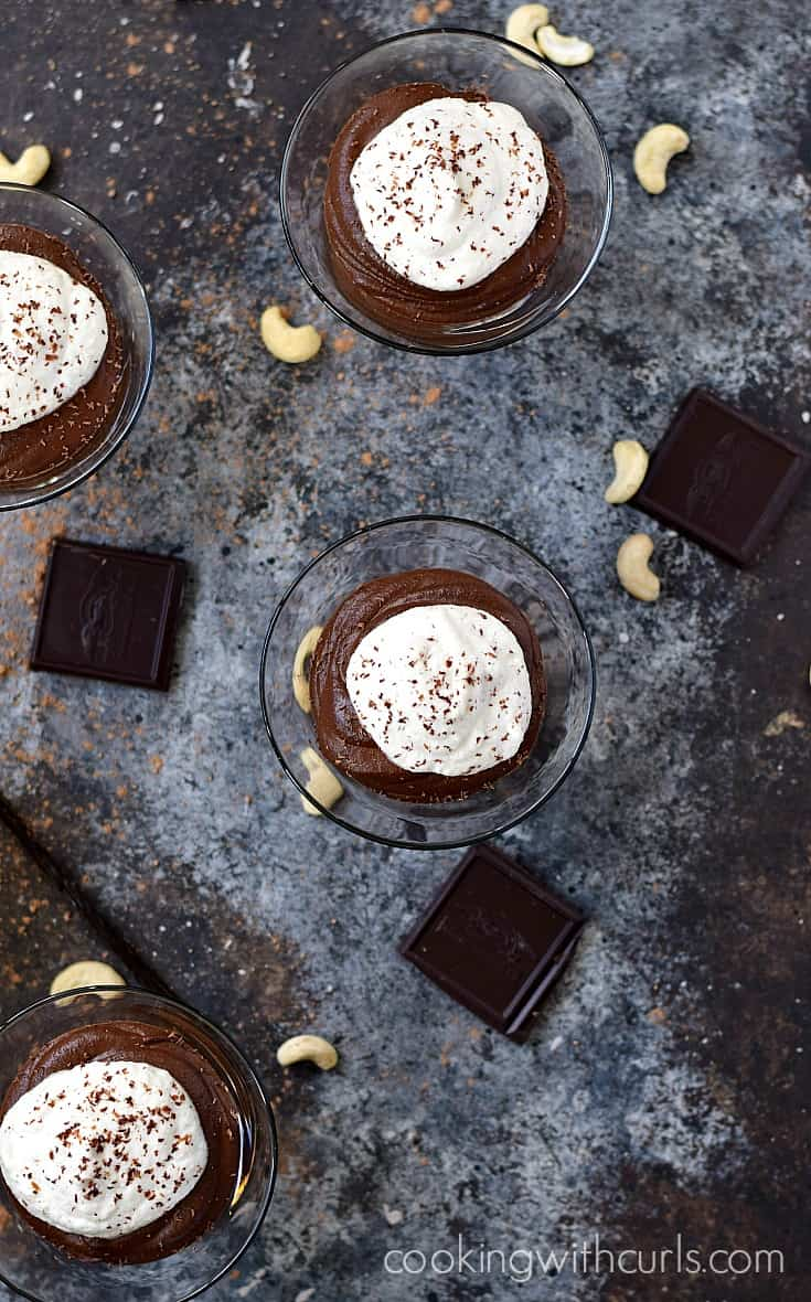 Paleo Chocolate Mousse | cookingwithcurls.com